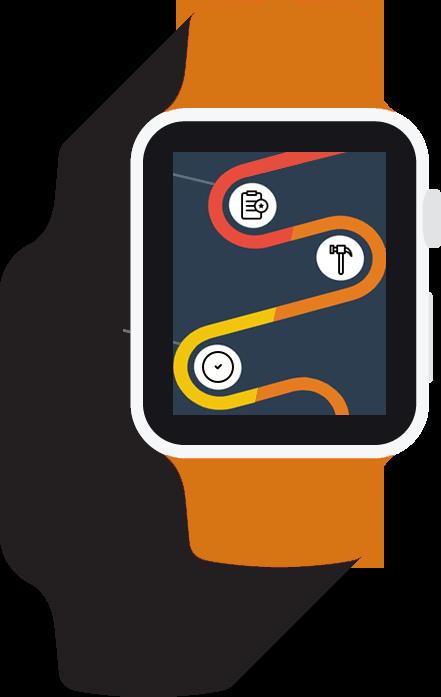 montre-timeline-orange